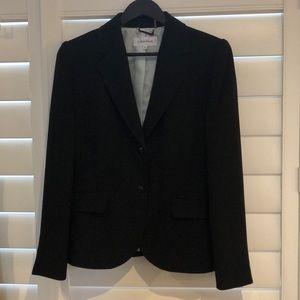 Calvin Klein Black Pant Suit size 8 EUC like new